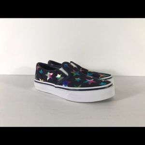 Vans Shoes - Vans Classic Slip-On Foil Stars Sneakers